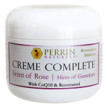 Perrin Naturals Creme Complete – scent of rose hints of geranium